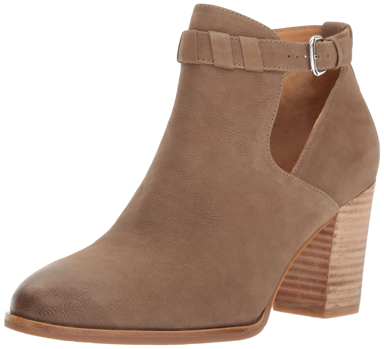Via Spiga Women's Samantha Bootie Ankle Boot B01N7TJXDY 7 B(M) US|Dark Taupe Nubuck