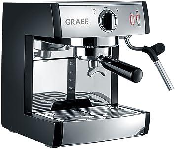 Graef ES702EU01 Siebträger-máquina de café Express, Rostfreier Stahl,: Amazon.es: Hogar