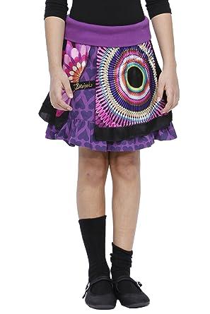 Desigual - Falda Mini para niña, Talla 9-10 años (134-140 cm ...