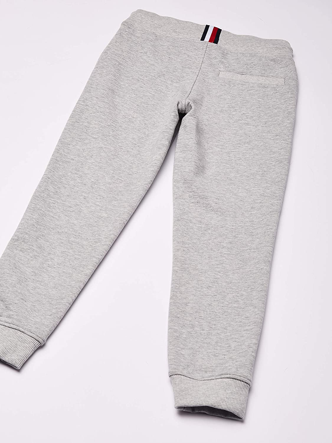 Size:3 Light Grey Heather P01 Tommy Hilfiger Boys Essential Sweatpants Trousers 3-4 Years Grey