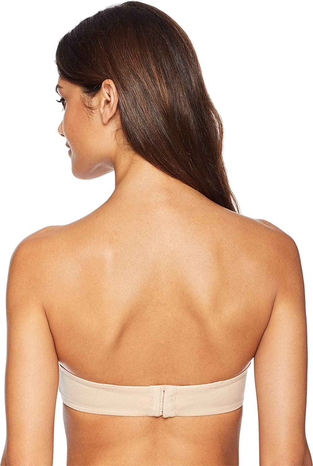 b17d9c02b SPANX Pillow Cup Signature Back Smoothing Wire-Free Support Strapless Bra  for Women at Amazon Women s Clothing store