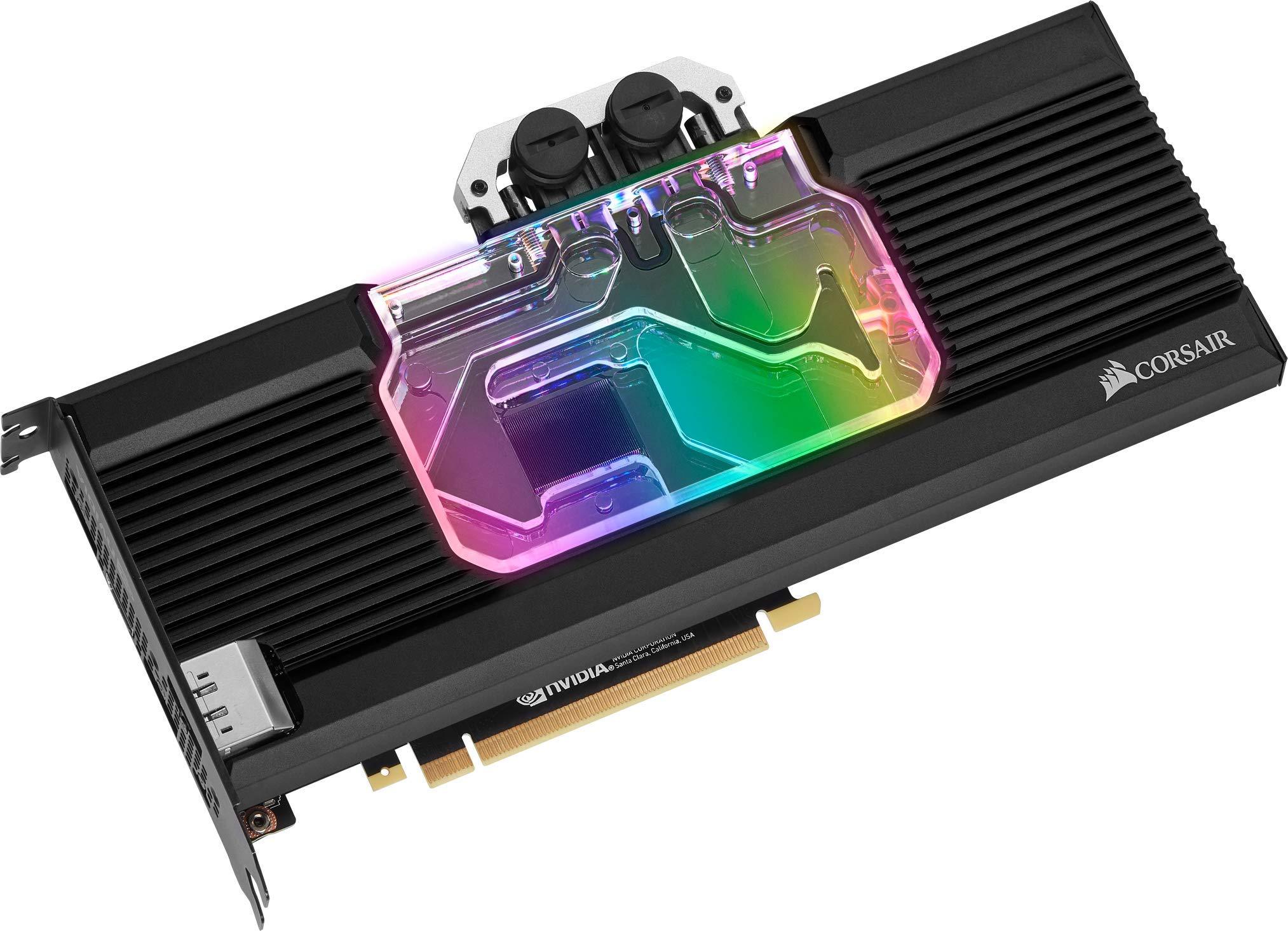 Corsair Hydro X Series, XG7 RGB GPU Water Block, 20-Series, GeForce RTX 2080 Ti Reference by Corsair
