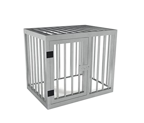 TRDC Jaula de Aluminio para Perros (80x70x60 cm): Amazon.es ...