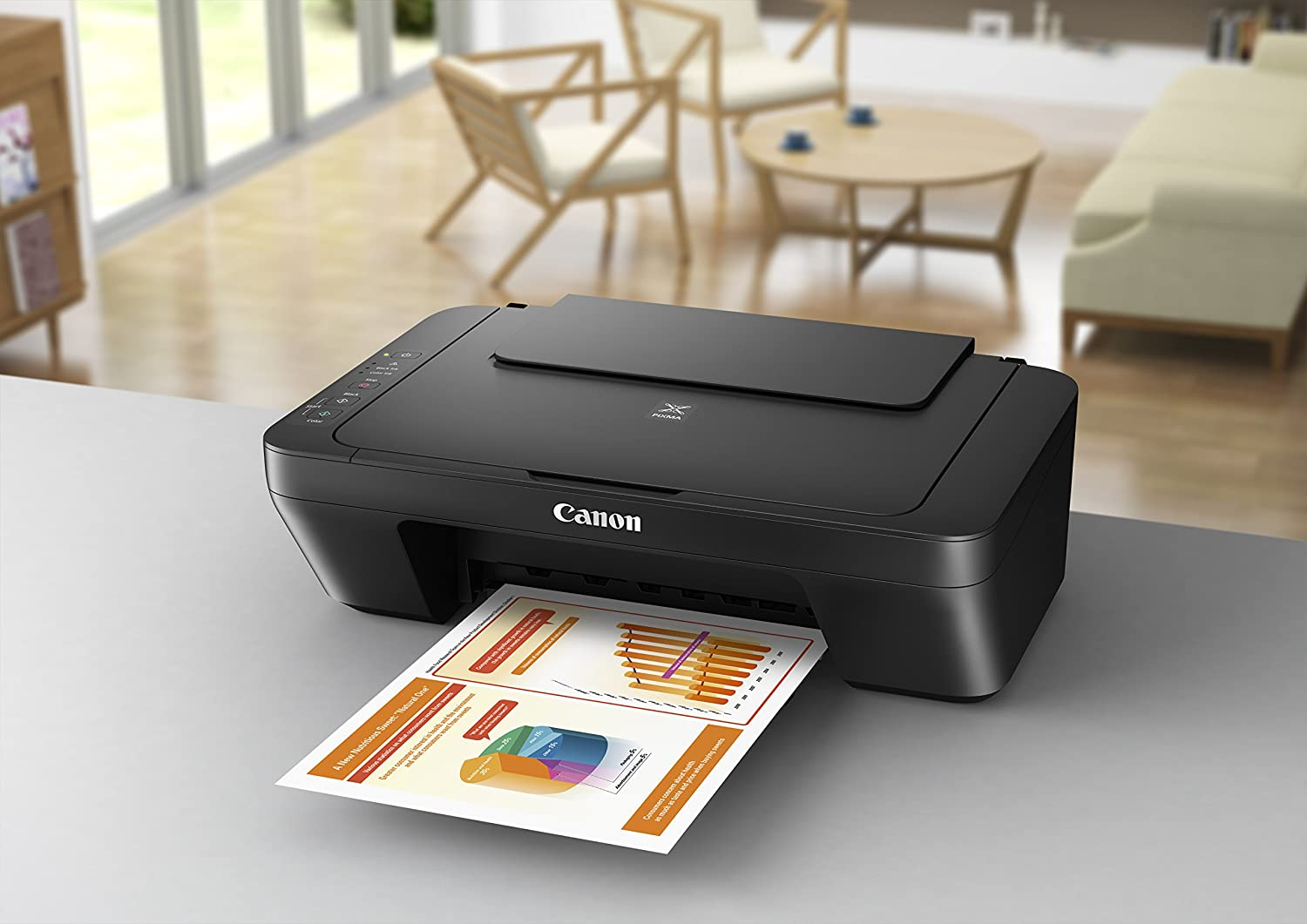 Canon Pixma Mg2525 Photo All In One Inkjet Printer With Scanner And
