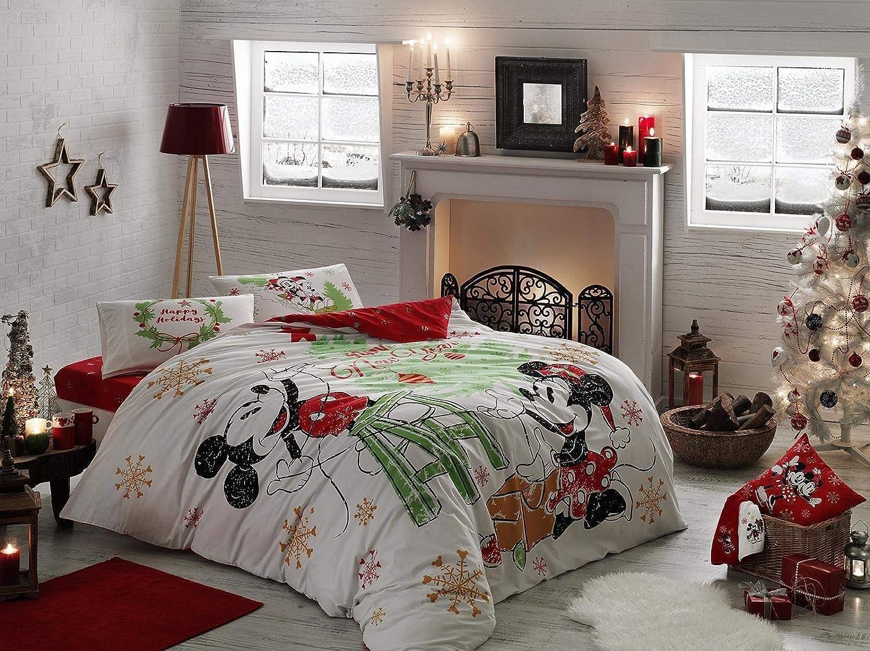 TAC Disney Mickey Mouse Single//Twin 100/% Cotton Bedding Bedspread//Coverlet Set 3 Pcs