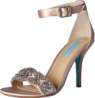 2f1188cfd02a1 Amazon.com | Blue by Betsey Johnson Women's SB-Harlo Heeled Sandal ...