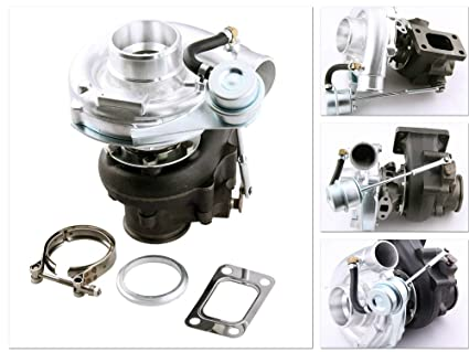Turbo Kit Hybrid Universal Engine T3 T4 4 Bolt Flange Patterns Oil Cooled Power up to
