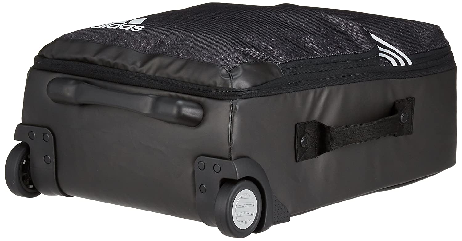 be2ec7043e adidas Team Cabin Size Travel Trolley - Black Black White