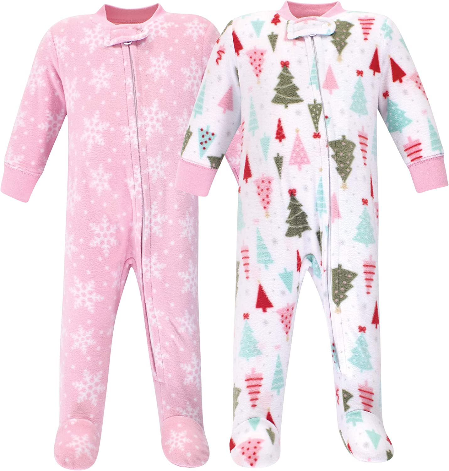 Essentials Girls Infant 2-Pack Sleep and Play