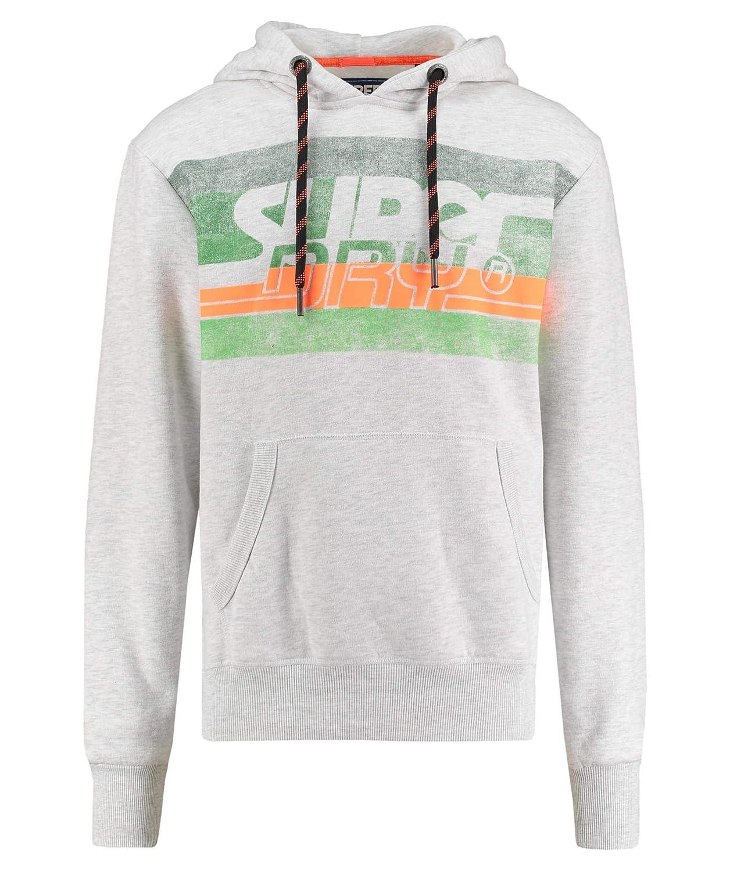 Superdry Herren Sweatshirt Rivine Stripe Hood