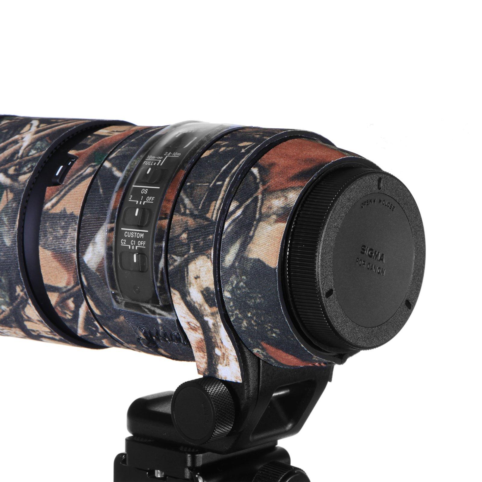 Mekingstudio Camera Lens Cover Protective for Sigma 150-600mm C - Forest Green Camo by Mekingstudio (Image #2)