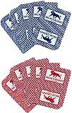 2 MGM Grand Casino Las Vegas Nevada Real Used Playing Decks of Cards
