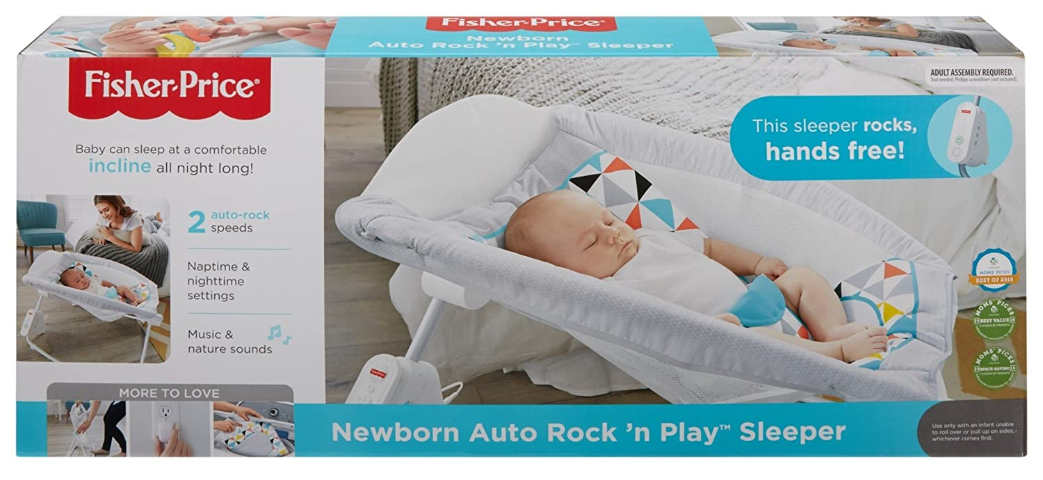 85ee04518e1 Amazon.com   Fisher-Price Auto Rock  n Play Sleeper   Baby