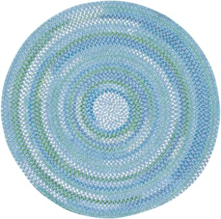 product image for Capel Waterway Deep Blue Sea Kids Rug Rug Size: Round 3'