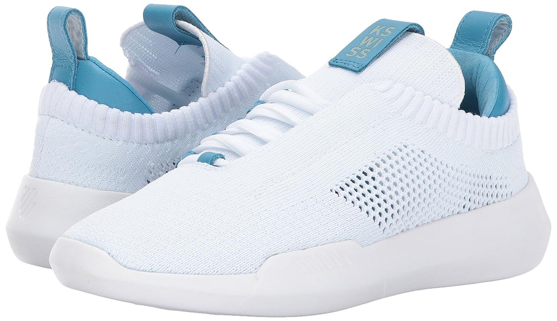 K-Swiss Sneaker Women's Gen-k Icon Knit Sneaker K-Swiss B01MRBT4EQ 5 B(M) US|White/Blue Moon 3c17b3