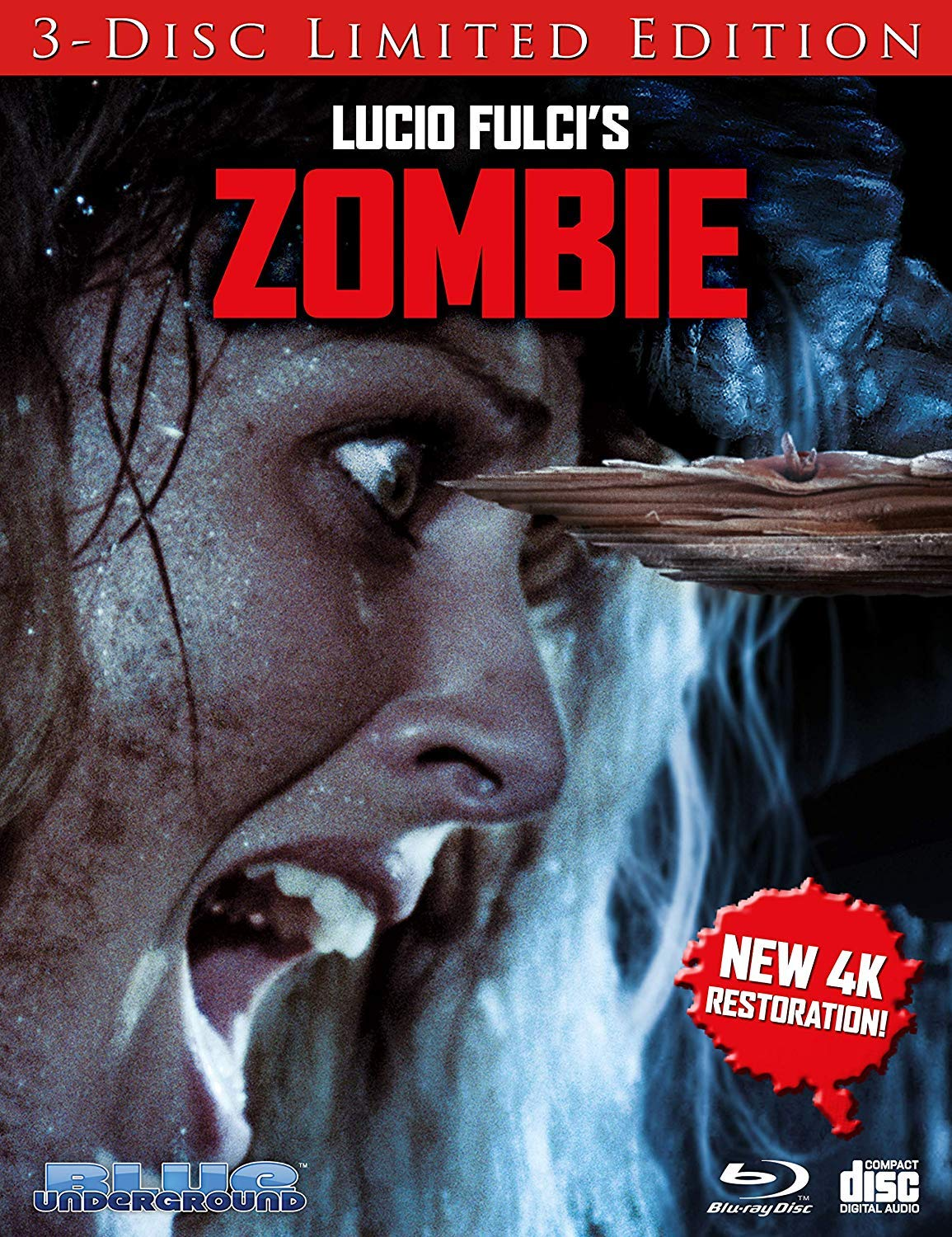 BIGWORDS com | Zombie (Cover B ''Splinter'') [Blu-ray] | 0827058802390 -  Buy new and used DVDs, books and more
