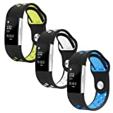 Amazon Price History for:Fitbit Charge 2 Band, Hanlesi Silica gel Soft Silicone Adjustable Fashion Replacement Sport Strap Band for Fitbit Charger 2 Smartwatch Heart Rate Fitness Wristband