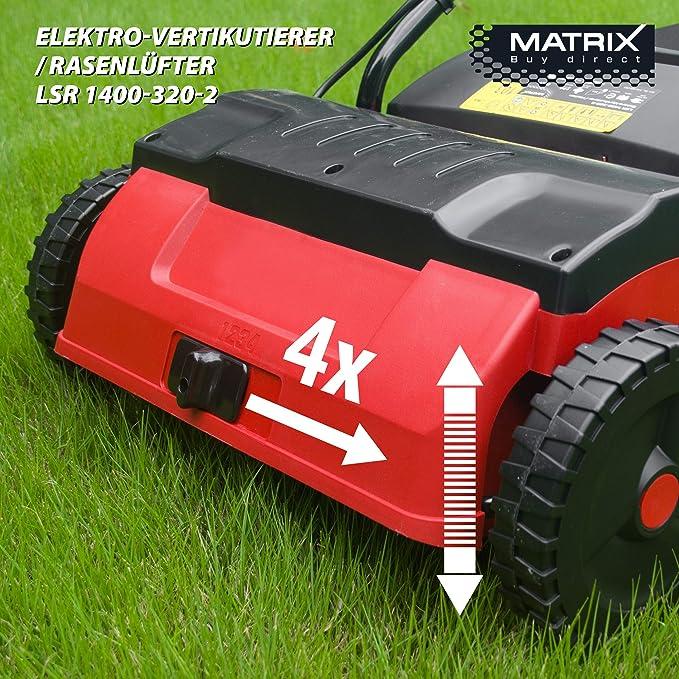 Matrix Escarificadora y ventilador de césped, 1 pieza, 310400065 ...