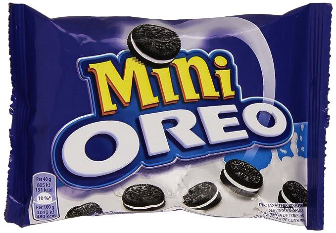 Oreo Mini Galletas Rellenos de Chocolate - 40 g: Amazon.es: Amazon Pantry