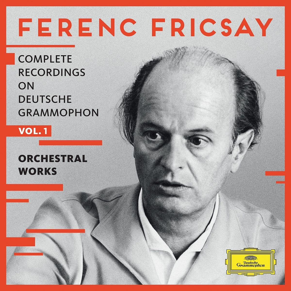 Ferenc Fricsay: Complete Recordings on Deutsche Grammophon, Vol.1 - Orchestral Works by CD