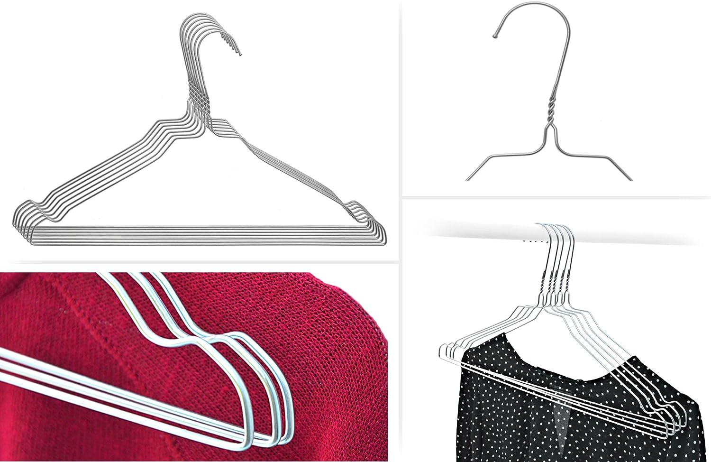 10-200 farbige MIX Drahtbügel Kleiderbügel NEU Bügel Metallbügel