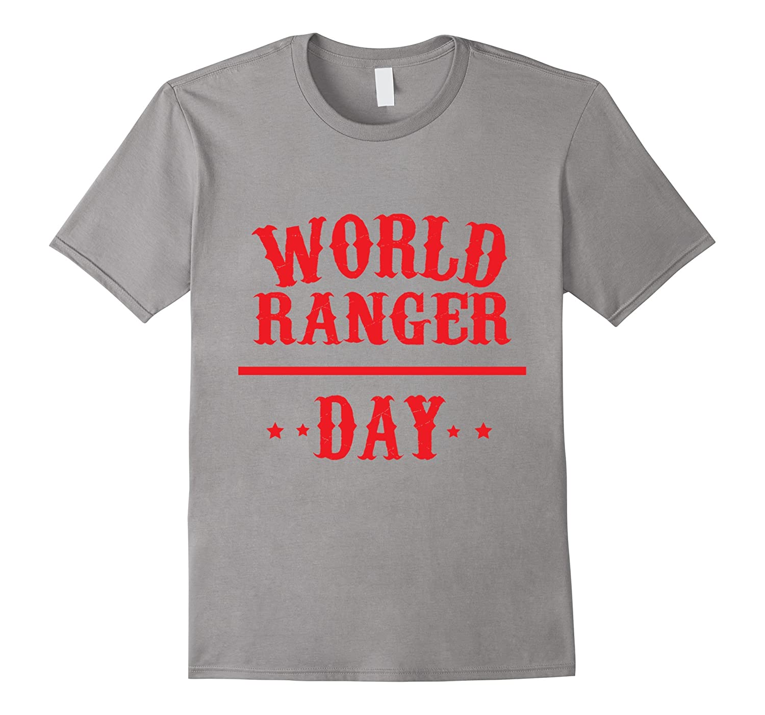 Thirty-first July - World Ranger Day Shirt-Art