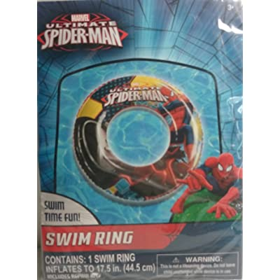 What Kids Want Marvel Ultimate Spider-Man 17.5 in Pool Swim Ring: Toys & Games