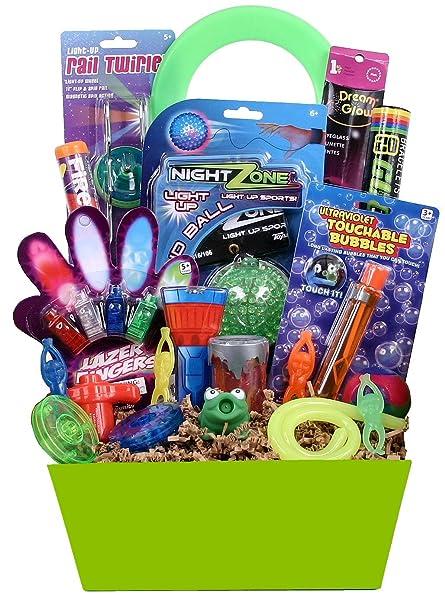 Girls birthday gift baskets toys