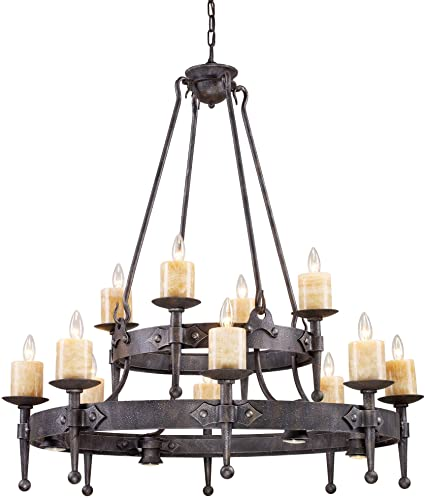 pendant home garden black wrought crystal light chandelier free product iron and
