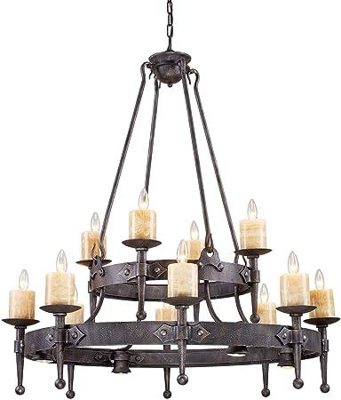 Amazon artistic lightingcambridge 844 light chandelier in amazon artistic lightingcambridge 844 light chandelier in moonlit rust kitchen dining audiocablefo