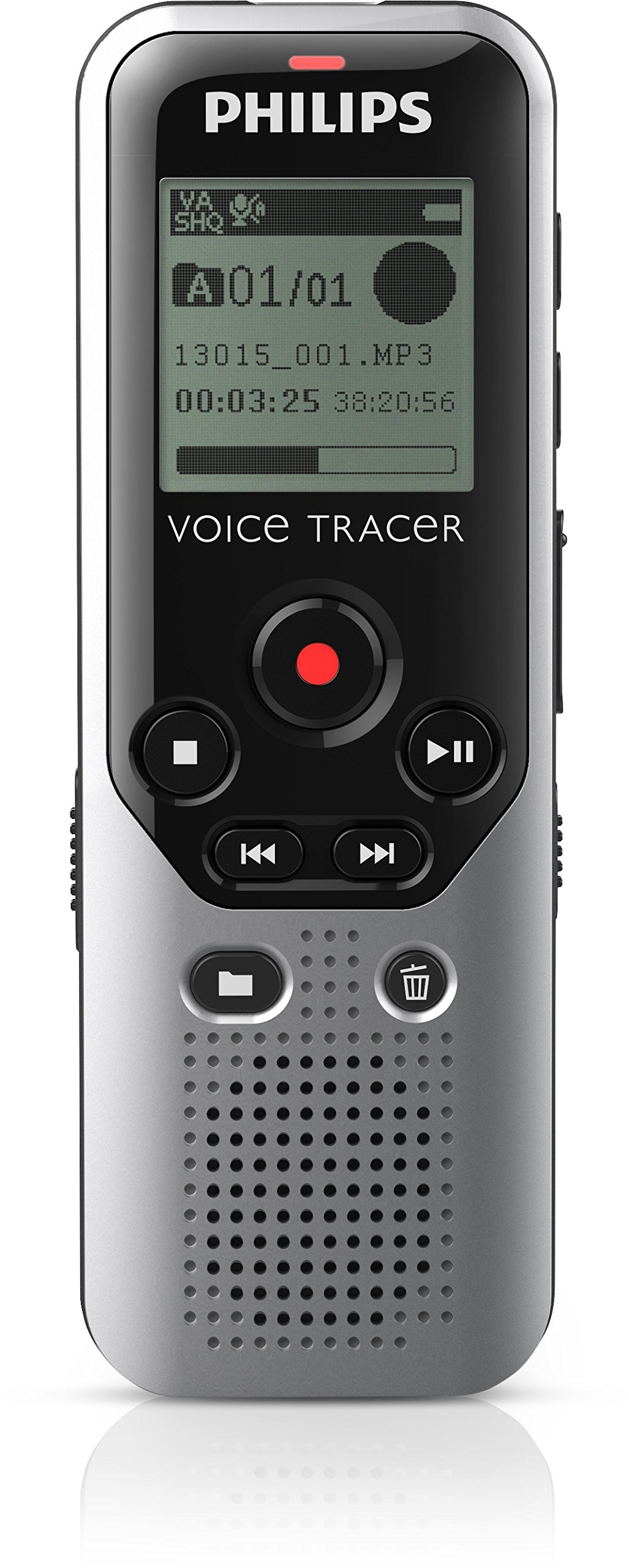 Philips Voice Tracer DVT1200 With Stereo MP3 Recording