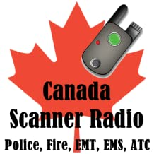 Canada Scanner Radio 150+ Feeds (Police, Fire, Rail, Airports, Marine)