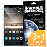 Huawei Mate 9 Screen Protector - Invisible Defender [3+1 Free/MAX HD CLEARNESS][Case Compatible] Perfect Touch Precision High Definition (HD) Clear Film for Huawei Mate 9 2016