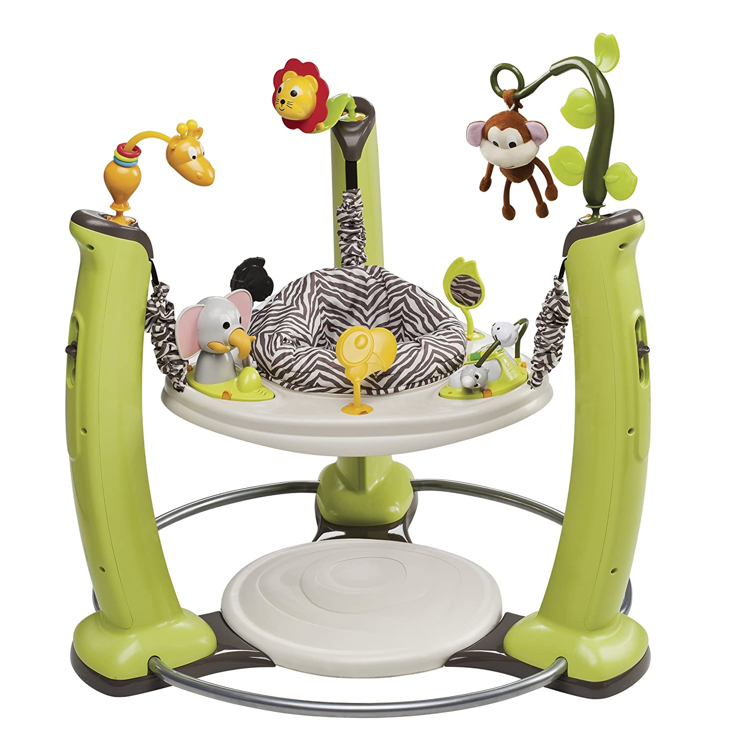 Evenflo ExerSaucer for Baby Jump and Learn Jumper, Jungle Quest