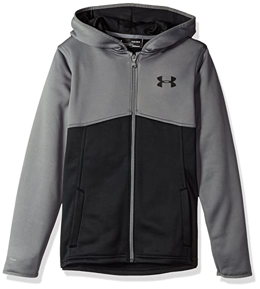 e65730f2e Amazon.com: Under Armor Boys' Armour Fleece Full Zip Hoodie: Clothing