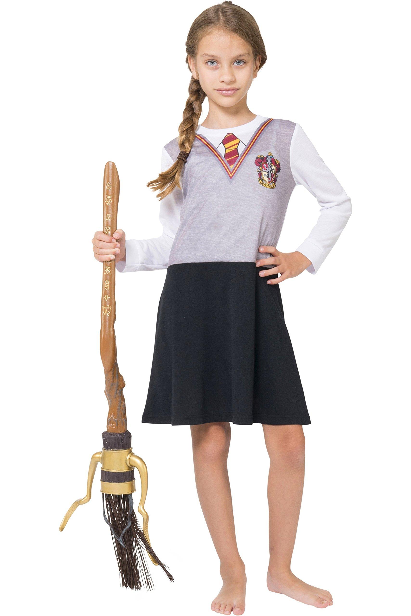 Intimo Big Girls\' Harry Potter L/s Hermoine Gryffindor Uniform Night ...
