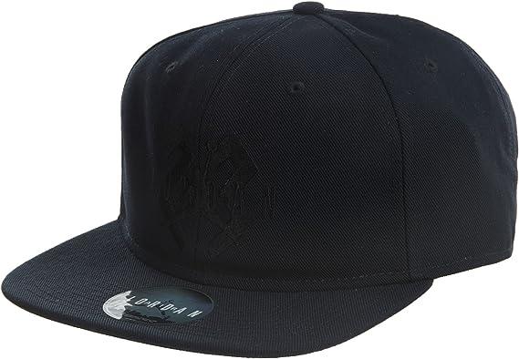 Jordan 6 OG Adult Unisex Snapback Hat Cap Black//Laser Orange 842599-010