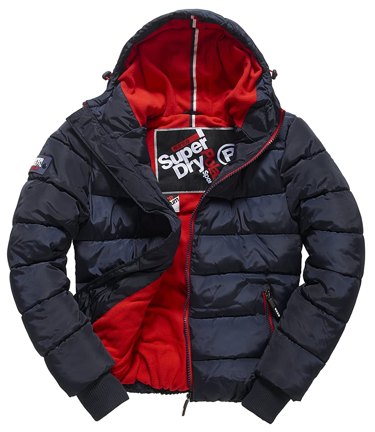Superdry Herren Regenjacken Polar Sports Puffer