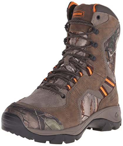Wolverine Men's Edge Extreme 8 inch Boot, Peat, ...