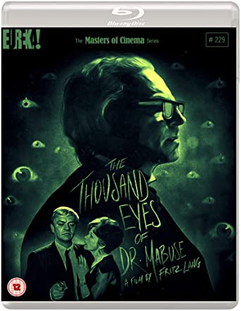 The Thousand Eyes Of Dr. Mabuse [Die 1000 Augun des Dr. Mabuse] (Masters of Cinema) Blu-ray Edition [Blu-ray]