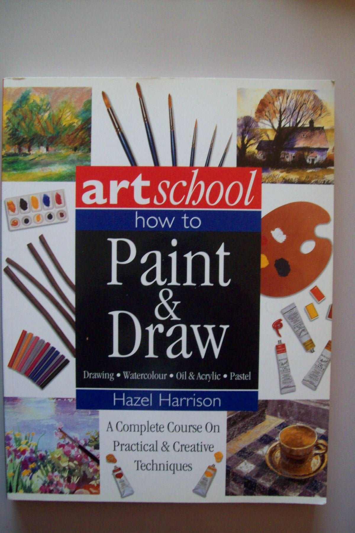 Read Online Art School: How to Paint & Draw: A Complete Course on Practical & Creative Techniques PDF