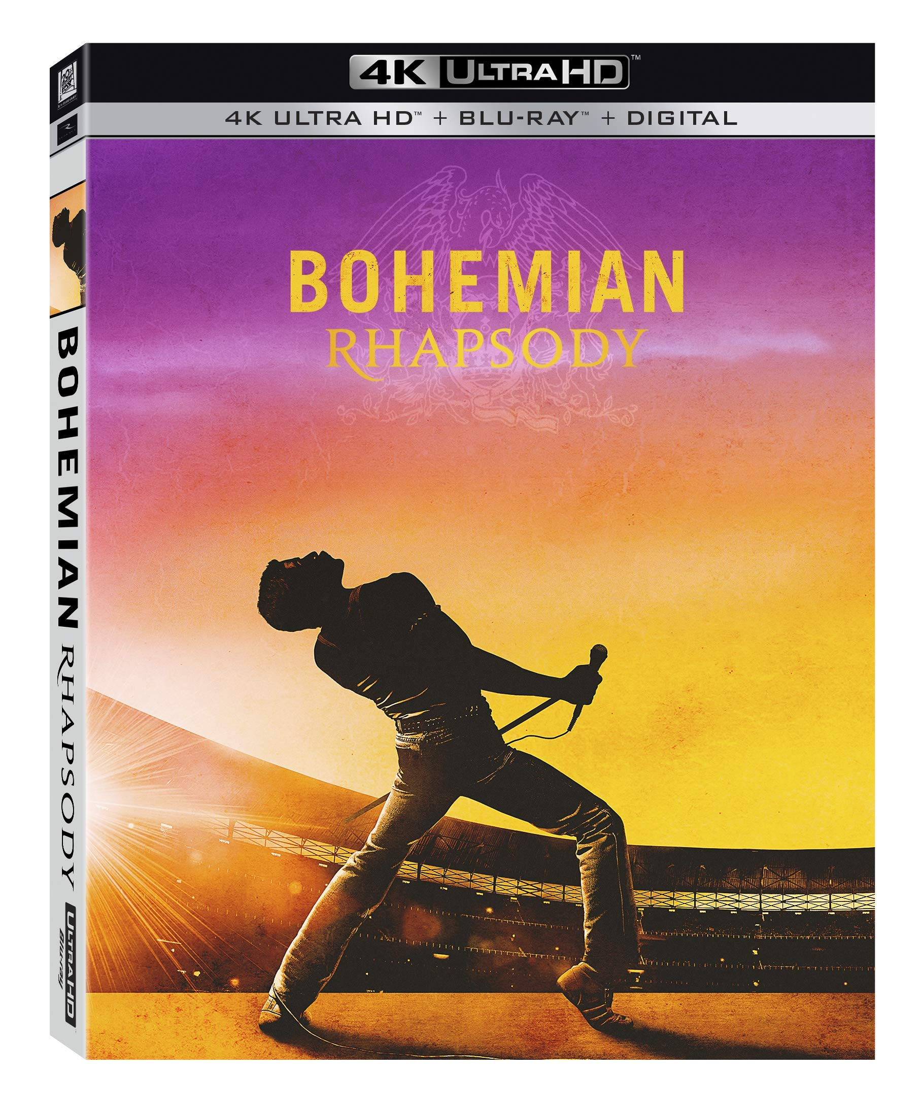 4K Blu-ray : Bohemian Rhapsody (With Blu-ray, Digital Copy, Subtitled, Widescreen, Digital Theater System)