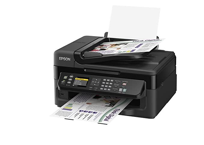 Epson Workforce WF-2540WF - Impresora multifunción de Tinta (B/N ...