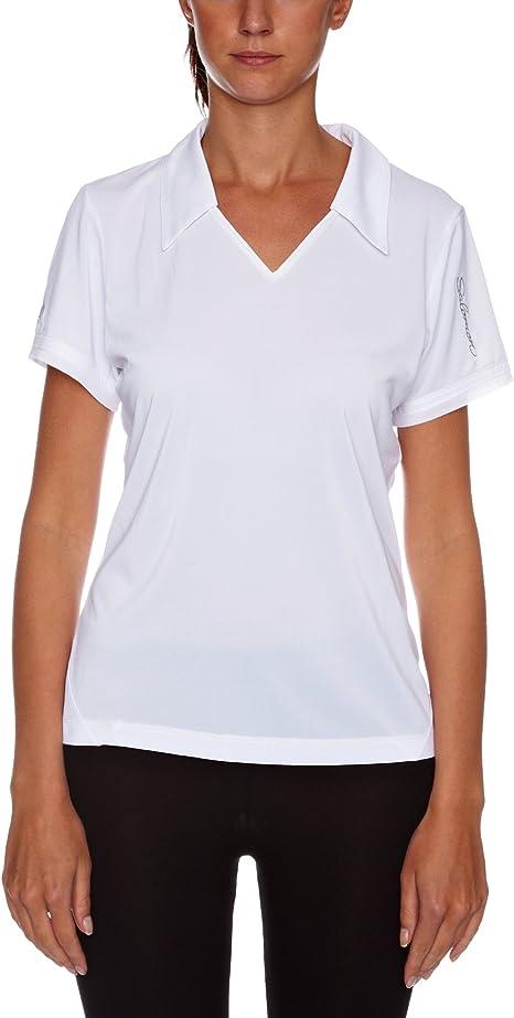 Salomon Champex Camiseta para Mujer, tamaño XS, Color Blanco ...