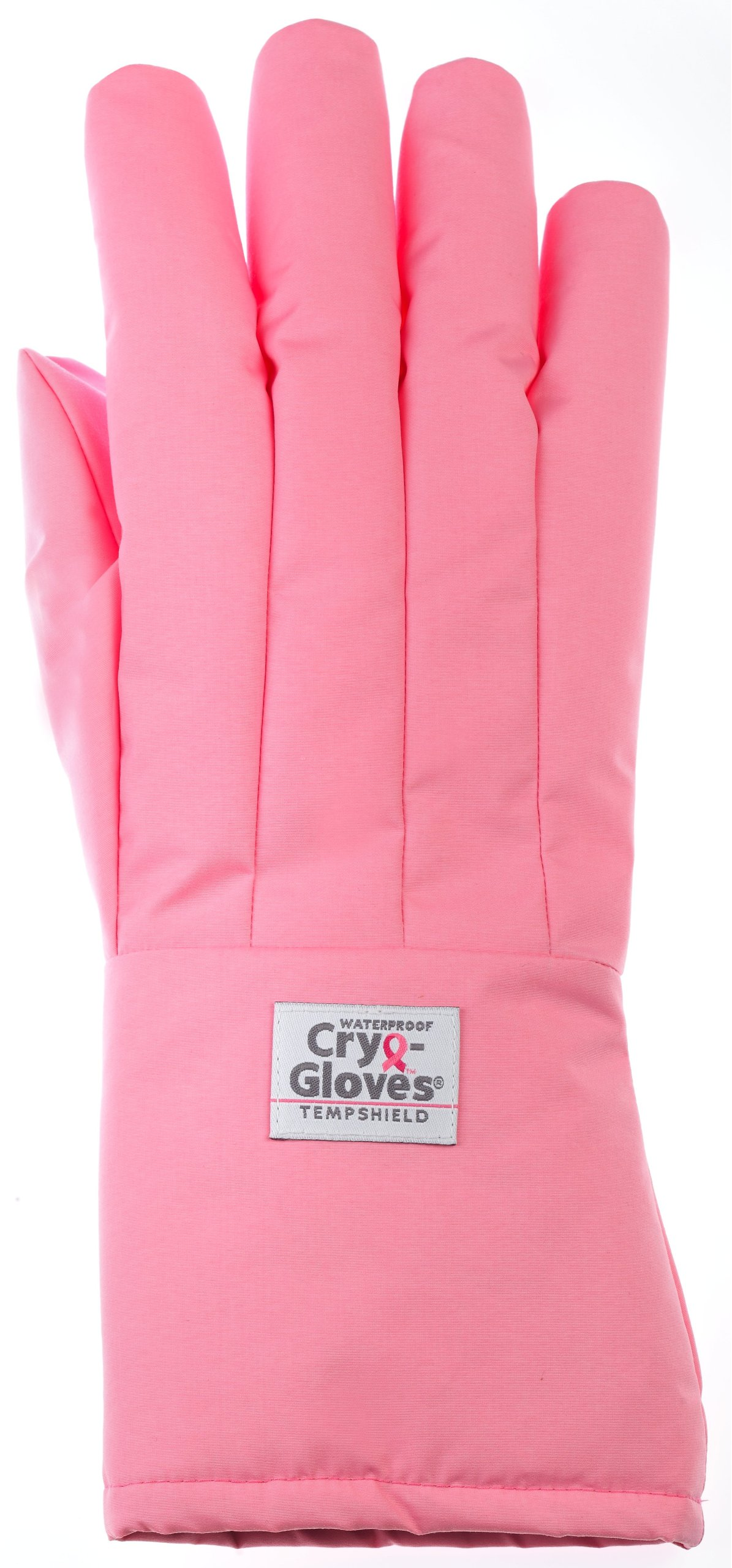 Waterproof Cryo-Gloves P-MASWP Cryogenic Gloves, Mid-Arm, Small, Pink