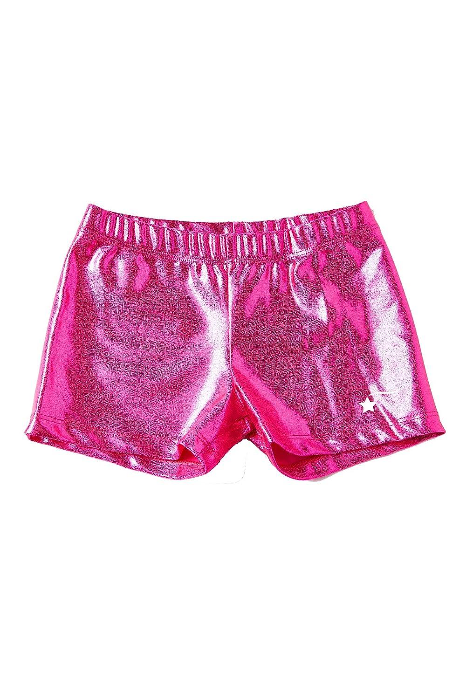 0409f8cf11bf Amazon.com  DESTIRA Gymnastics or Cheer Sport Shorts for Girls ...