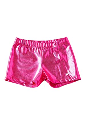 2aff26db9 Amazon.com  DESTIRA Gymnastics or Cheer Sport Shorts for Girls ...