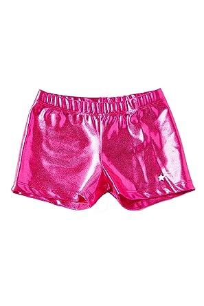 2aff26db9 Amazon.com  DESTIRA Gymnastics or Cheer Sport Shorts for Girls ...