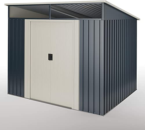Caseta metálica Gris Antracita 4,6 m2