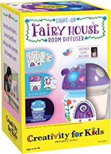 Creativity for Kids Fairy House Scented Night Light - Night Lights for Kids